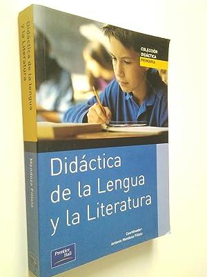 Didáctica de la Lengua y la Literatura: Antonio Mendoza Fillola