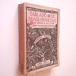 Tablado de marionetas para educación de príncipes.: Ramón María del