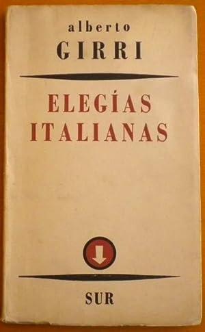 Elegías Italianas: Girri Alberto