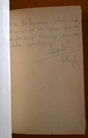 Sombras que van conmigo [Firmado / Signed]: Borbon María Pía de