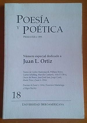 Número especial dedicado a Juan L. Ortiz: Ortiz Juan L.