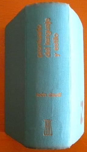 Prontuario del lenguaje y estilo: Daudí León