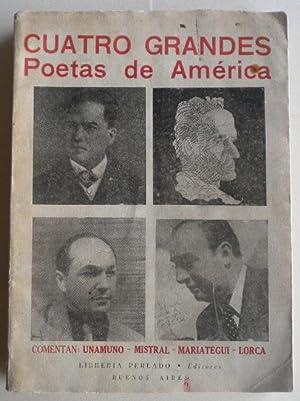 Cuatro grandes poetas de América: Darío Ruben -