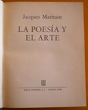 La poesía y el arte: Maritain Jacques
