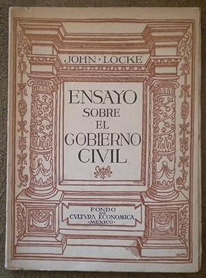 Ensayo Sobre El Gobierno Civil Locke John