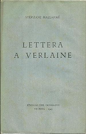 Lettera a Verlaine.: MALLARMÉ Stéphane,