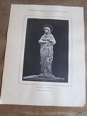 ÁLBUM ARTÍSTICH DE LA RENAIXENSA. AGUSTI QUEROL - MATER DOLOROSA