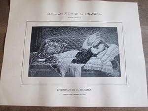 ÁLBUM ARTÍSTICH DE LA RENAIXENSA. JOSEPH LLOBERA - PRELIMINARS DE LA MITJDIADA