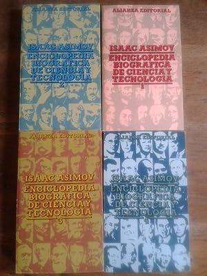 ENCICLOPEDIA BIOGRÁFICA DE CIENCIA Y TECNOLOGÍA (4: Asimov, Isaac