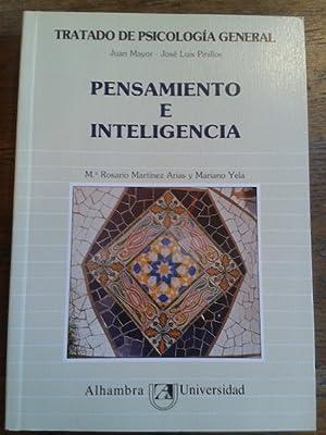TRATADO DE PSICOLOGÍA GENERAL. TOMO 5. PENSAMIENTO: Mayor, Juan /