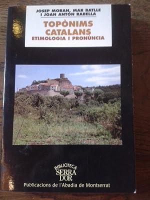 TOPONIMS CATALANS. ETIMOLOGIA I PRONÚNCIA: Batlle Gutierrez, Mar