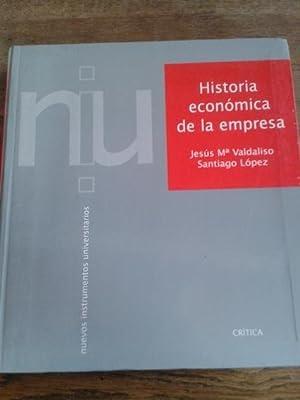 HISTORIA ECONÓMICA DE LA EMPRESA: Valdaliso Gago, Jesús