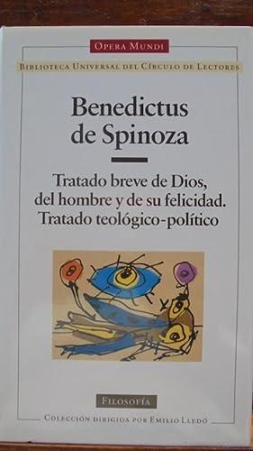 TRATADO BREVE DE DIOS, DEL HOMBRE Y: BENEDICTUS DE SPINOZA