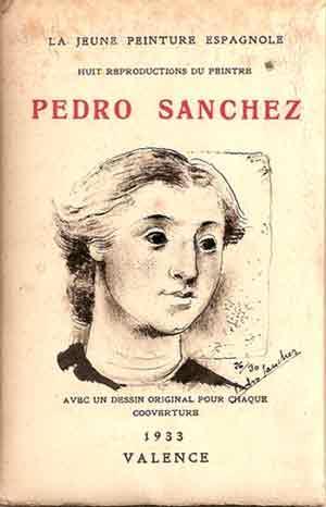 LA JEUNE PEINTRE ESPAGNOLE (Huit Reproductions du: Sanchez, Pedro