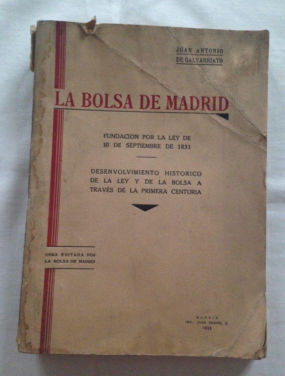 Bolsa La MadridFundación Por De Ley uOPZikTX
