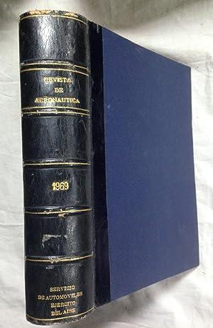 REVISTA DE AERONAUTICA Y ASTRONAUTICA. Año 1969. Completo
