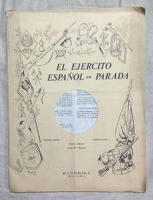 EL EJÉRCITO ESPAÑOL EN PARADA. Primera Serie. El desfile de la Victoria, 1939. Carpeta nº 1: BUENO,...