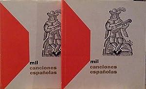 1000 Canciones españolas: Aa. Vv.