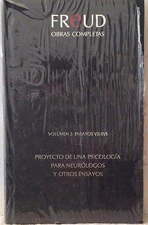 Obras completas Vol. II - Ensayos VII-XVI: Sigmund Freud