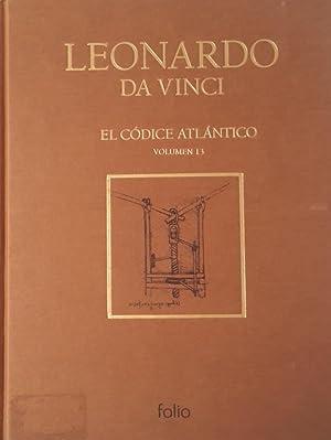 El Códice Atlántico Vol. 13: Leonardo Da Vinci