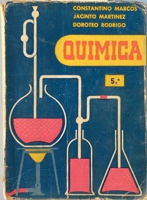 Quimica 5º: Constantino Marcos /