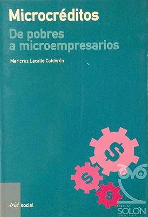 Microcréditos de pobres a microempresarios: Maricruz Lacalle Calderón