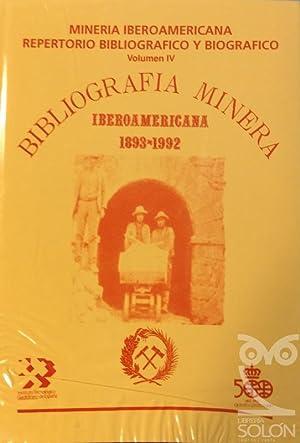 Bibliografía Minera - 4 Tomos: Aa. Vv.