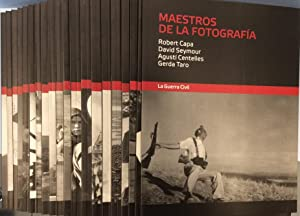 Maestros de la fotografía - Estuche con 20 cuadernos: Cartier-Bresson,Capa, Korda, Catalá-Roca, ...