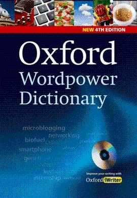 DICCIONARIO OXFORD WORDPOWER DICTIONARY 4TH EDITION PACK WITH CD-ROM