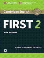 CAMBRIDGE ENGLISH FIRST EXAMS 2 CD AUDIO (2)