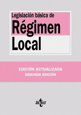 LEGISLACIÓN BASICA DE RÉGIMEN LOCAL
