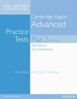 ADVANCED PRACTICE TESTS PLUS 2 WITH KEY