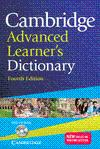 CAMBRIDGE ADVANCED LEARNERS DICTIONARY WITH CD-ROM PAPERBACK