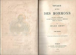 Voyage au pays des mormons Relation -: Remy Jules