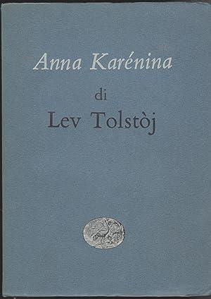 Anna Karenina: Tolstoj Lev Nicolaevic