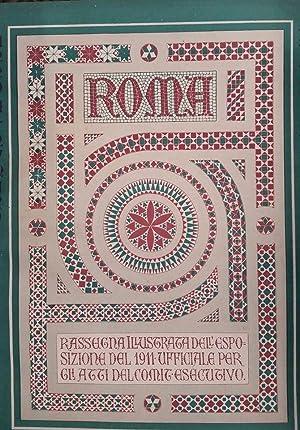 Roma Rassegna illustrata della Esposizione del 1911: AA.VV.