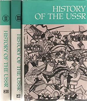 History of the USSR In Three Parts.: VV.AA. Maximilian Schlosberg
