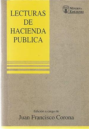Lecturas de hacienda pública: Corona Ramón, Juan