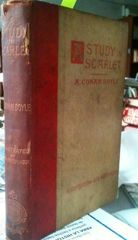 A Study in Scarlet: Books | eBay