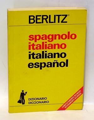 DICCIONARIO-DIZIONARIO. MANUALI DI CONVERSAZIONE BERLITZ .- SPAGNOLO ITALIANO - ITALIANO ESPA&...