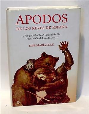 APODOS DE LOS REYES DE ESPAÑA - ¿Por qué se les llamó Favila el del Oso...