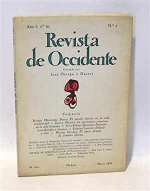REVISTA DE OCCIDENTE - No. 2 - Año I - Segunda Época