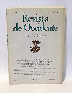REVISTA DE OCCIDENTE - No. 4 - Año I - Segunda Época