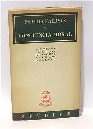 PSICOANÁLISIS Y CONCIENCIA MORAL: TESSON, R.P. -