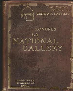 Les musées d' Europe: Londres, La National: Geffroy, Gustave. Couverture