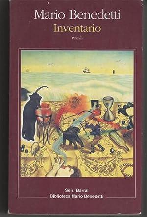 INVENTARIO.POESÍA COMPLETA.(1950-1958).GEOGRAFÍAS,(1982-1984).VIENTO DEL EXILIO.(1980-1981).COTIDIANAS.(1978-1979).LA CASA DEL LADRILLO.(1976-1977).POEMAS: BENEDETTI, MARIO