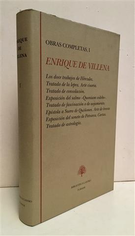 Obras completas I. Los doce trabajos de: Villena, Enrique de.