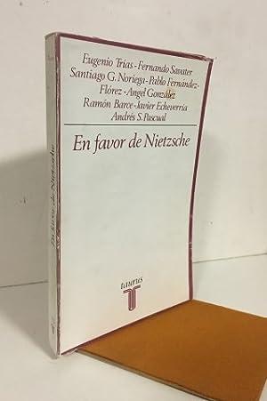 En favor de Nietzsche: VV.AA.Eugenio Trías, Fernando