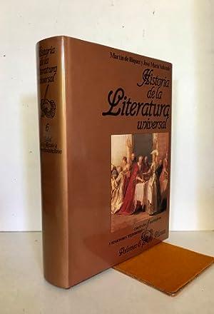 Historia de la Literatura Universal. Con textos: Riquer, Martín de
