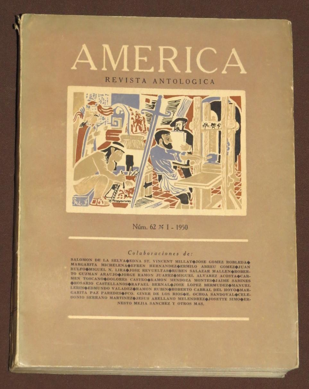 America. Revista Antológica. Num. 62, Enero De 1950: Rulfo, Juan / Michelana, Margarita / ...